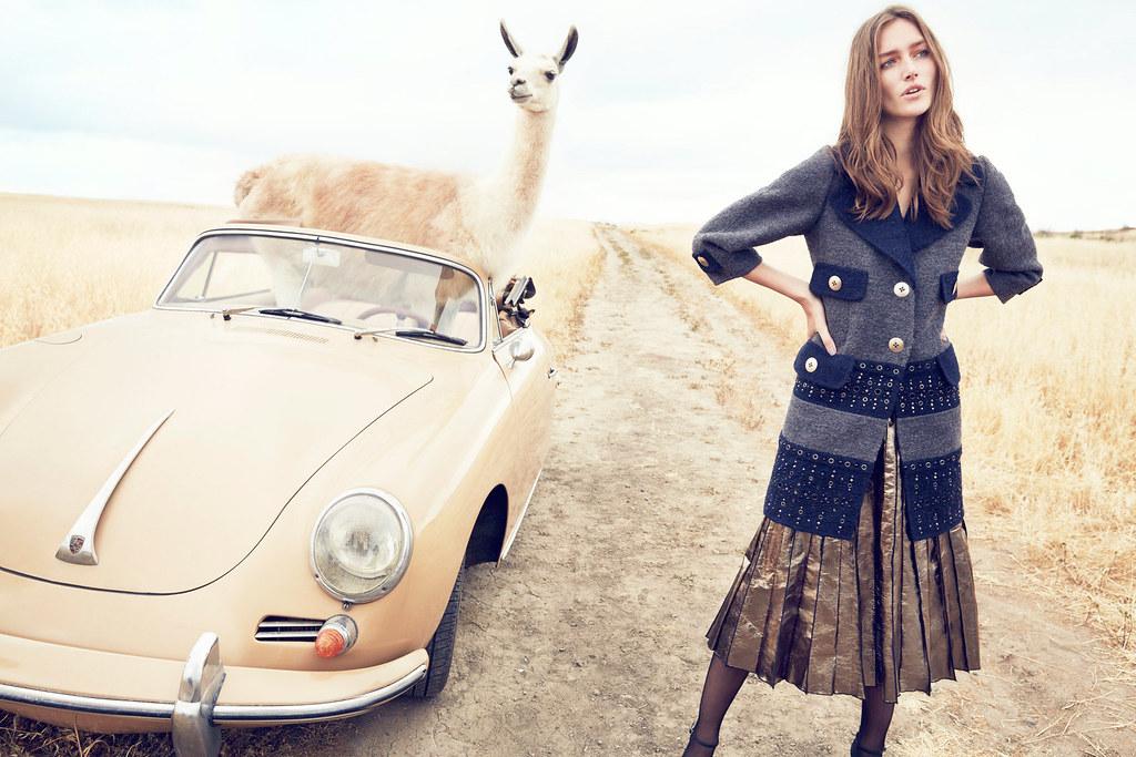 Жозефин Ле Тутур — Фотосессия для «Neiman Marcus» 2015 – 1