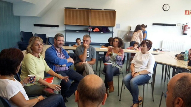 Reunión familias Euskadi