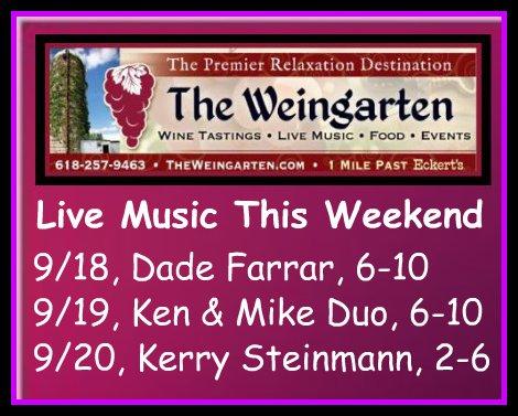 The Weingarten 9-18 thru 9-20-15