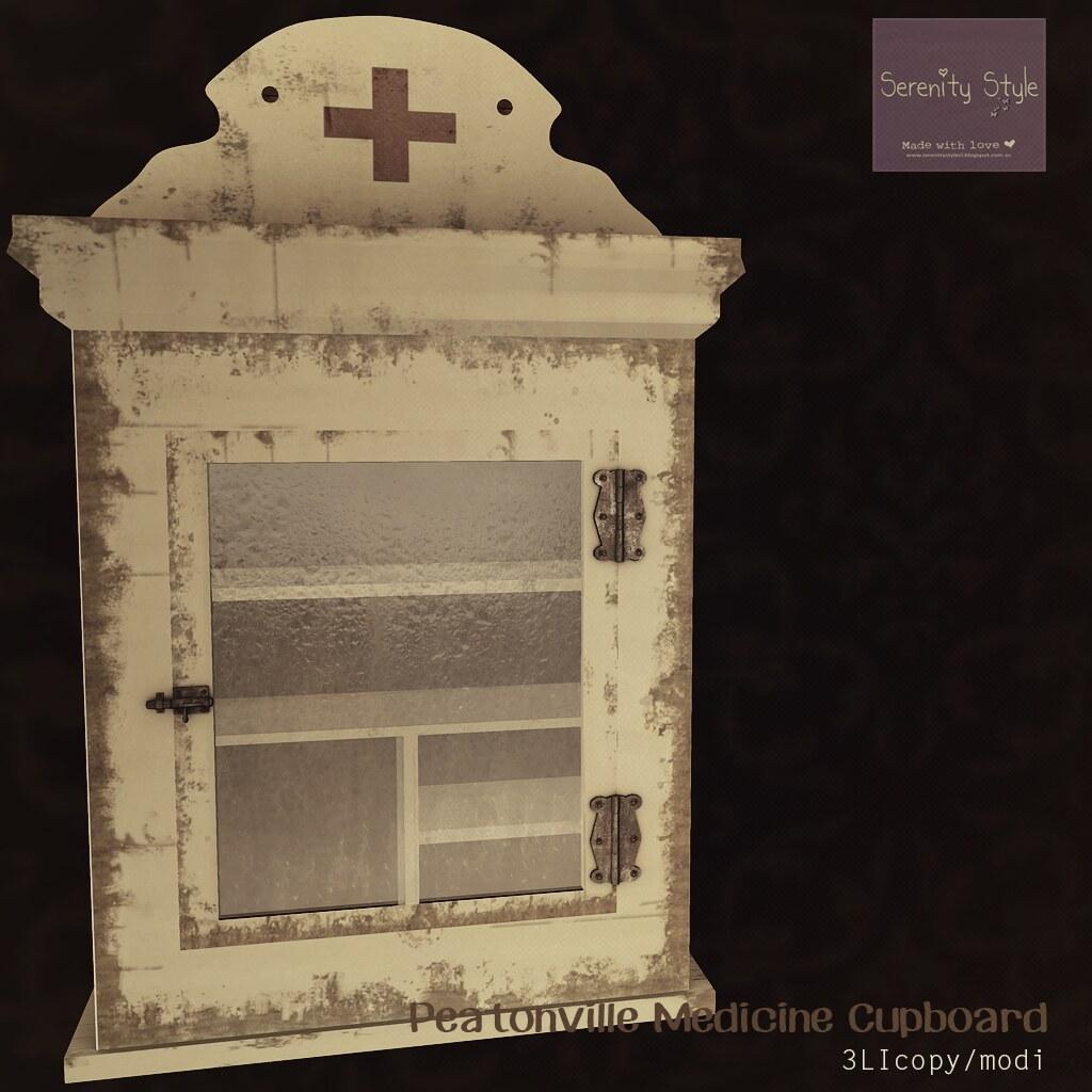 Serenity Style- Peatonville Medicine Cupboard