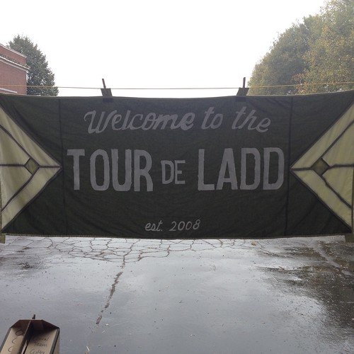 Tour de Ladd Welcome Banner