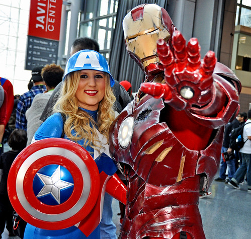 Talk to the Hand Iron Man Cap Combo NYCC 2015