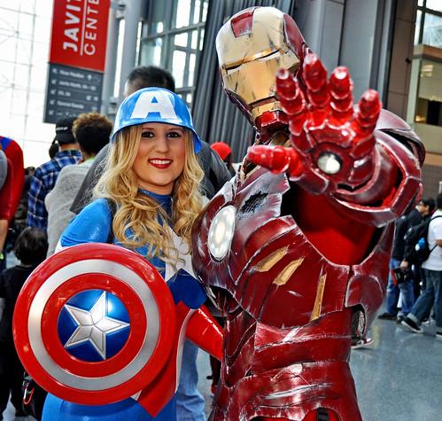 Talk to the Hand Iron Man Cap Combo NYCC 2015