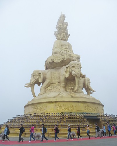 CH-Emeishan-jr2-Sommet d'or-Samantabhadra (18)