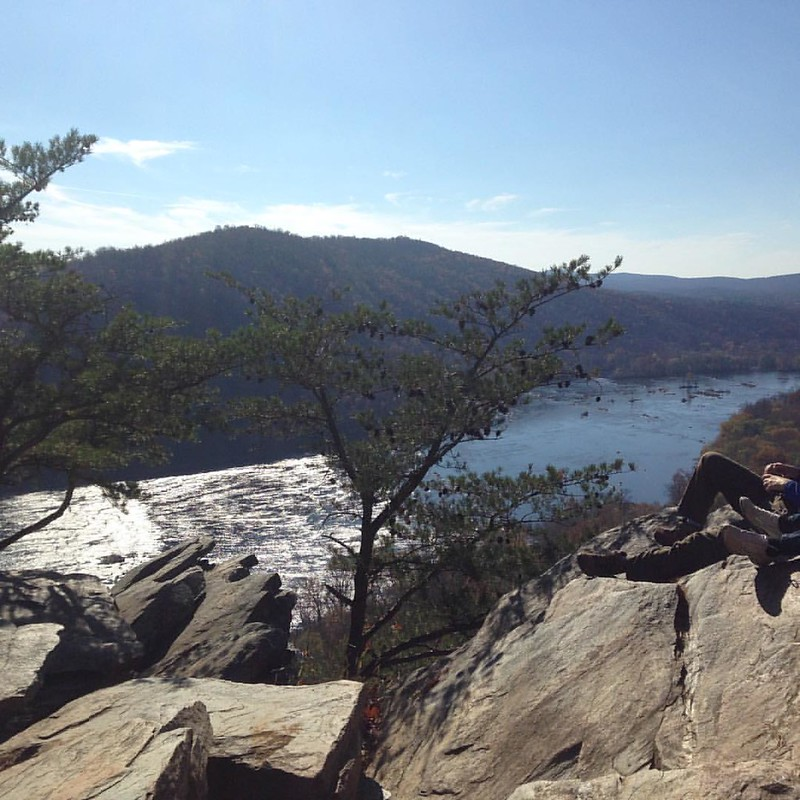 View from #wevertoncliffs #hike #harpersferry