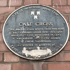 Photo of Cale Cross and David Stephenson black plaque