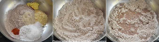 How to make Ragi Murukku Recipe - Step1