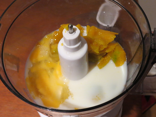 Cooking: Kabocha Pudding