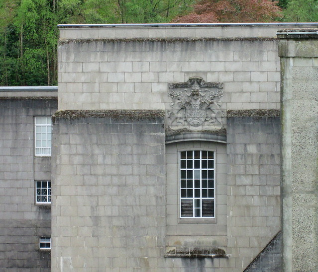 Pitlochry Dam Window and Cartouche