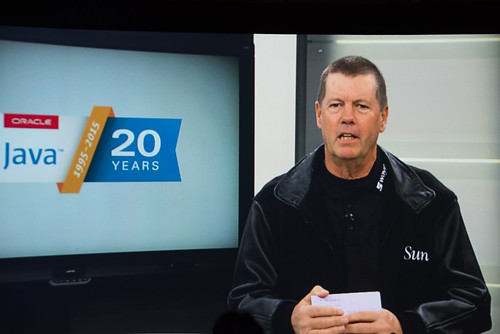 Scott McNealy, Java Keynote, JavaOne 2015 San Francisco