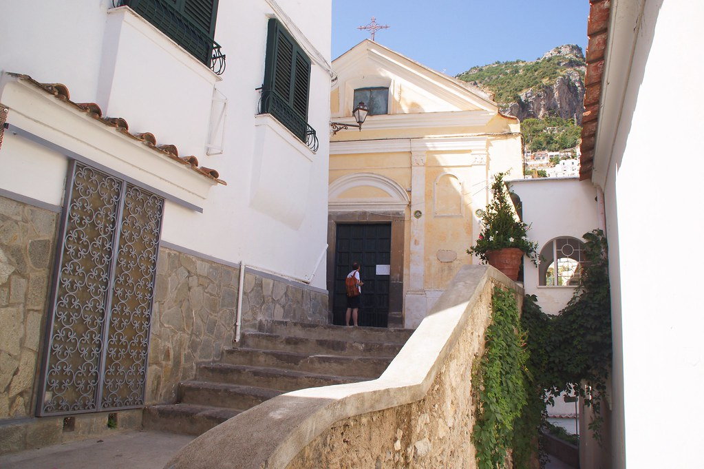 Church at Via Fornillo, Positano, VSCOcam