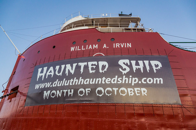 Duluth Haunted Ship - William A. Irvin