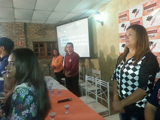 Lançamento do pré-candidato a prefeito de Poá, Geraldo Oliveira