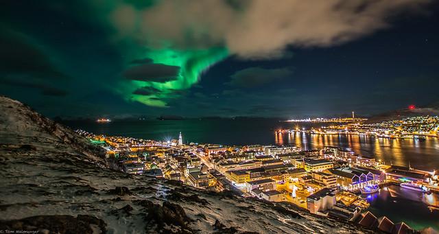 Aurora polaris - Hammerfest