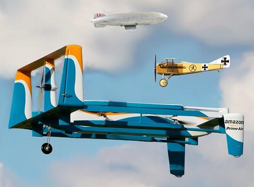 Amazon. Airborne!