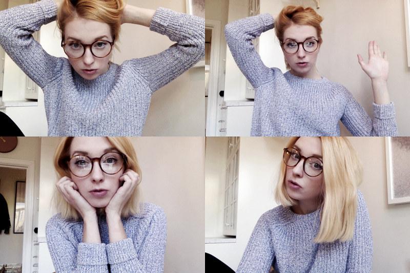 glasses.