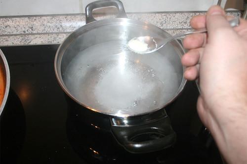 28 - Wasser salzen / Salt water