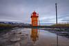 Svalbarðseyri´s lighthouse
