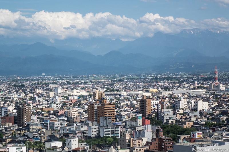 Toyama Observation Tower, en el itinerario de 17 días por Japón
