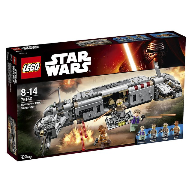 LEGO Star Wars The Force Awakens 75140 - Resistance Troop Transporter