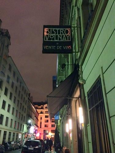 Bistro Volnayの夜
