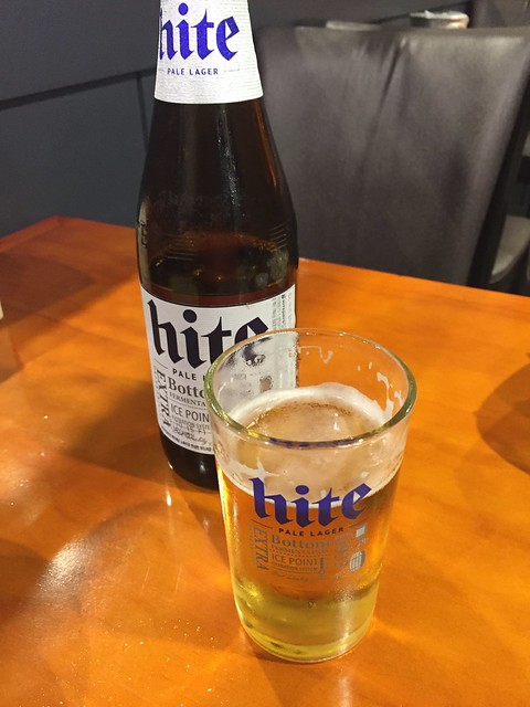 Hite beer - Bbobbo Chicken & Beer