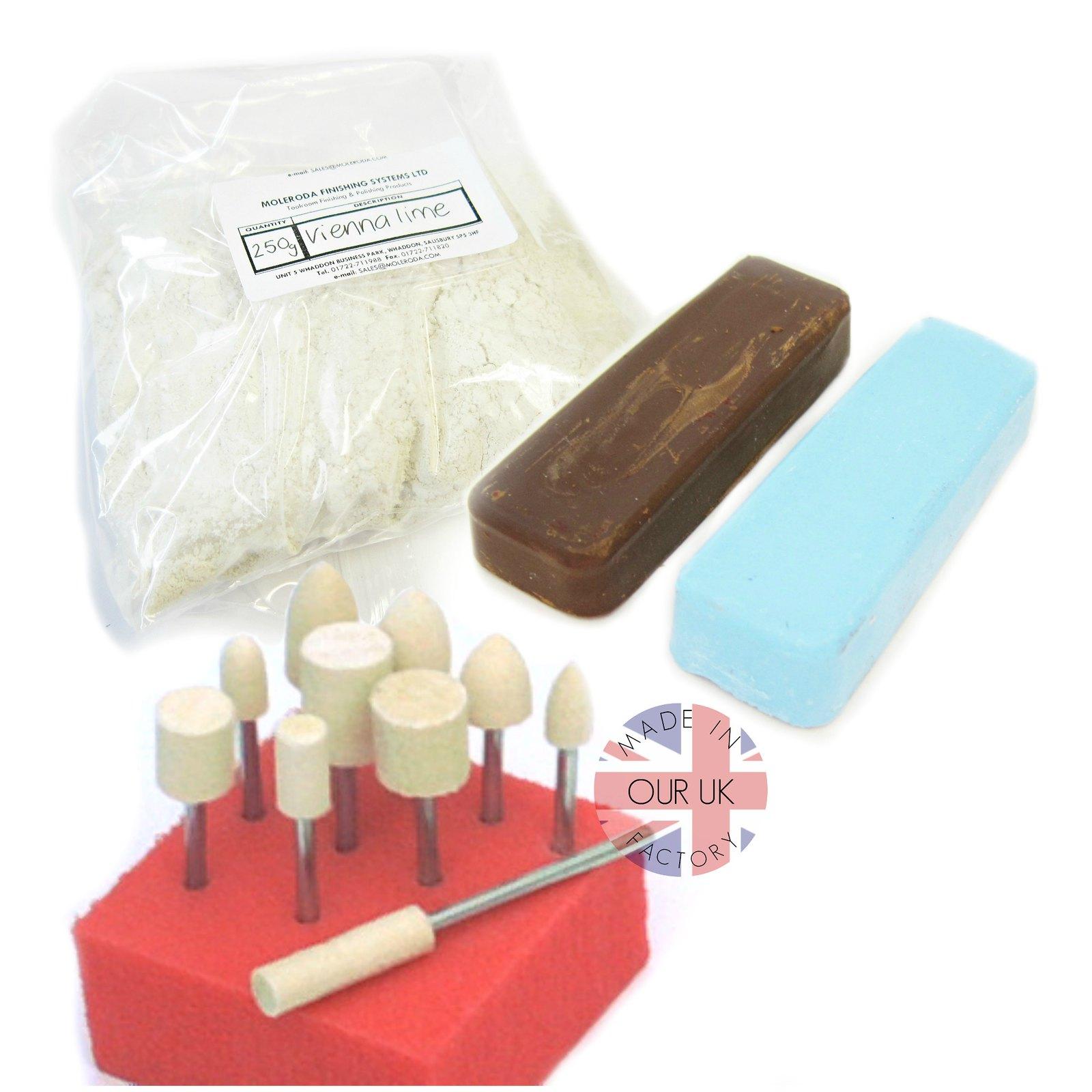 dremel style kit de polissage 1 pour polir d taill aluminium laiton cuivre ebay. Black Bedroom Furniture Sets. Home Design Ideas