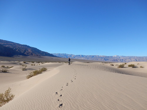 Death Valley NP - Mesquite Flat Sand Dunes - 7