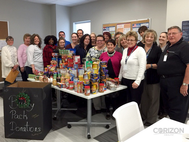 Missouri team collects donations for The Food Bank, fills 'Buddy Packs'
