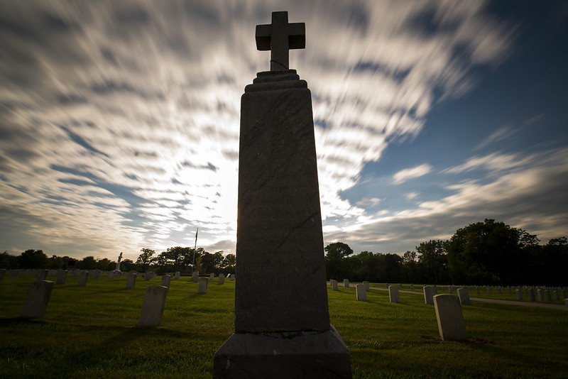 Grave and Sky
