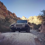 Rocking it in the canyon #sandythejeep #theadventuresofsandythejeep by bartlewife