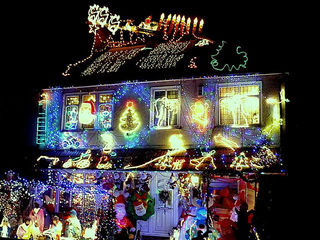 Christmas Lights, Panasonic DMC-G5, LUMIX G VARIO 14-140mm F4.0-5.8