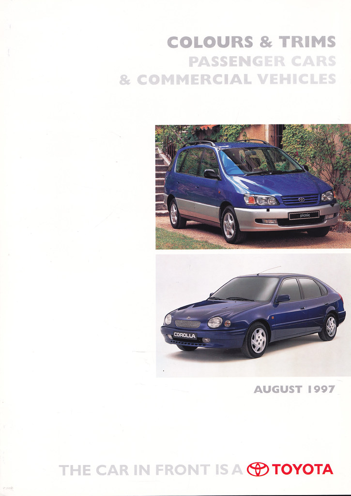 Flickr photos tagged sxv20 picssr uk toyota car upholstery colours august 1997 sciox Choice Image