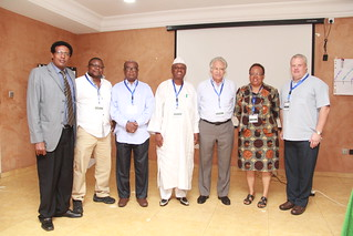 Members of the African Chicken Genetic Gains project's Scientific and Industrial Advisory Committee