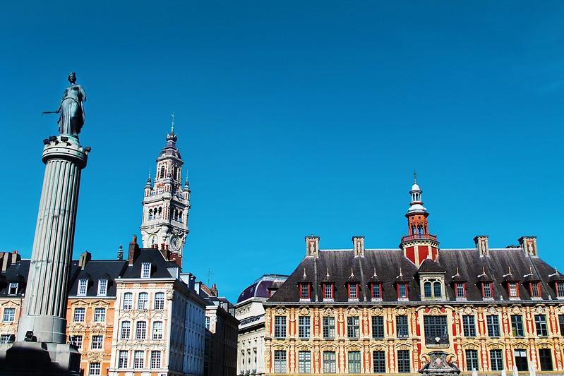 Drawing Dreaming - Guia de Visita de Lille - Grand Place de Lille