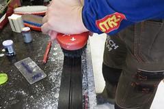 Servis lyží – čištění a parafínování