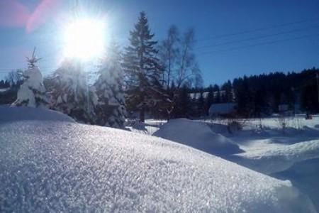 Fotopřehled krásných lyžařských míst v ČR