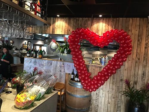Ballonnenhart Liefde Valentijnsdag Watertuin Schiedam