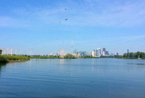 Toronto: Tommy Thompson Park view of skyline