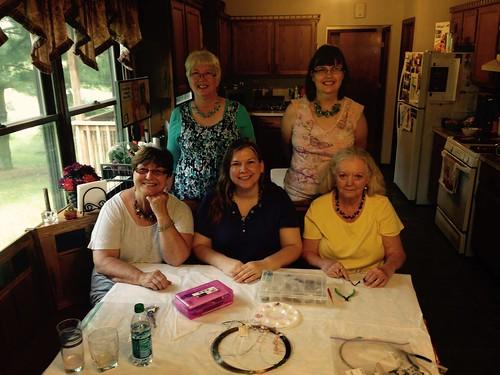 crochet necklace ladies