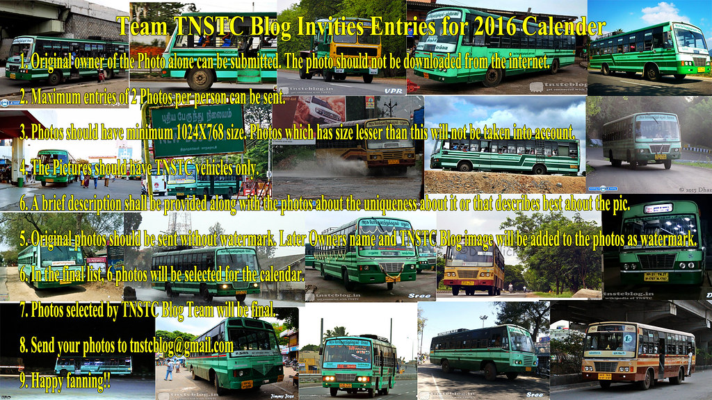 TNSTC Blog Invites Pictures.