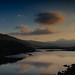 Sun Sets Over Snowdon by melcolliephoto
