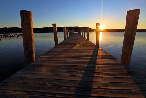 summer sky sun nature beauty docks sunrise canon landscape eos town newengland newhampshire nh meredith lakewinnipesaukee 6d 1635mm meredithbay