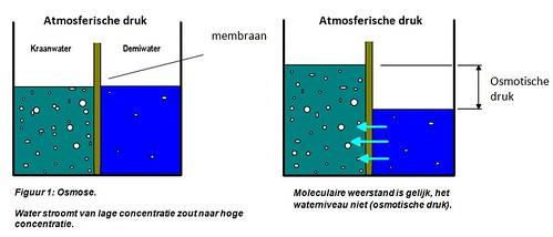 osmose en omgekeerde osmose
