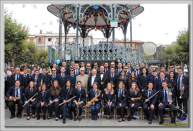 Briviesca en Fiestas 2.015 Recepción en el Ayuntamiento y canto popular del Himno a Briviesca (23)