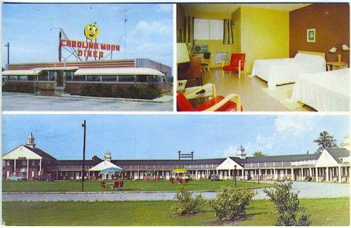 Carolina Moon Motel Santee front