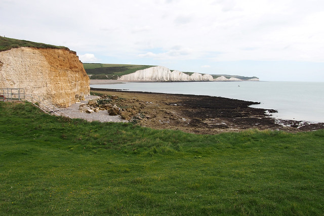 The Seven Sisters from Cuckmere Haven