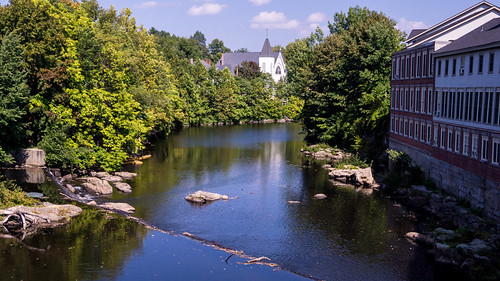 Souhegan River in Milford