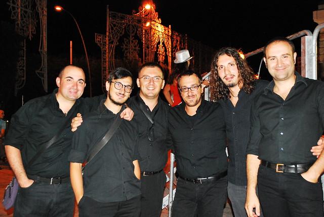 Rutigliano-Gli Odè in Piazza XX Settembre per Napulè -Complesso Musicale Tibiarum