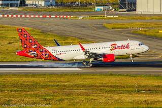 PK-LAQ / F-WWDK Batik Air Airbus A320-200 - cn 6722